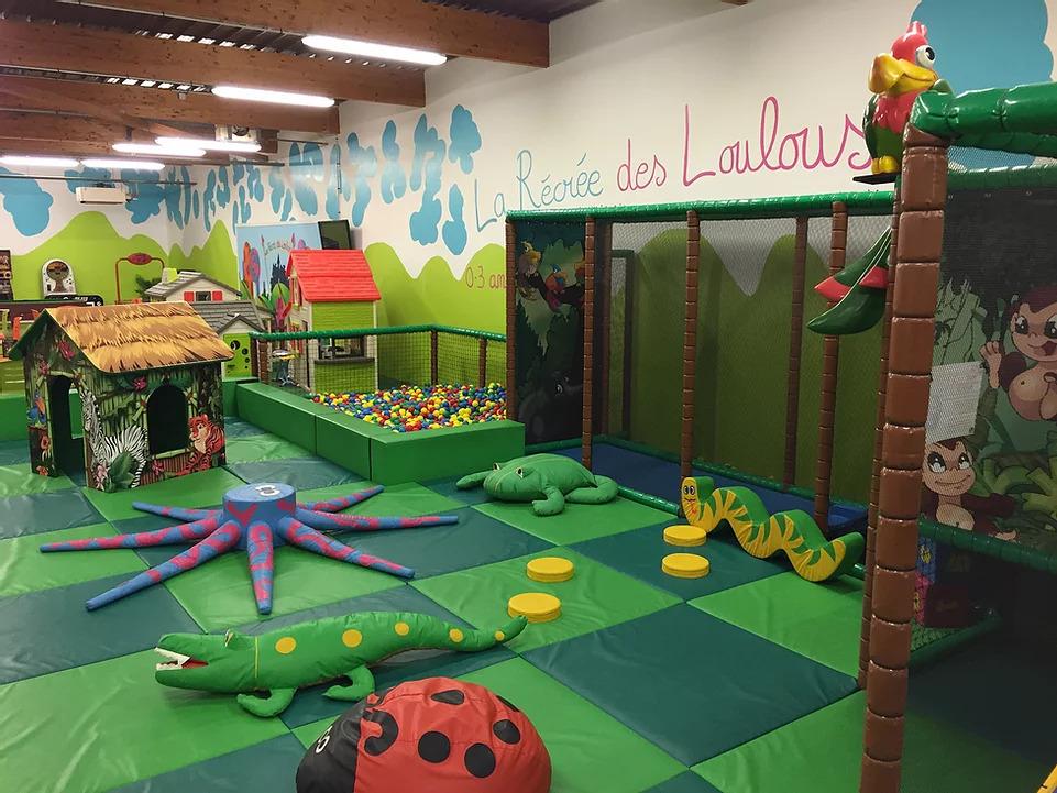 Espace de jeux pour les bébés et les plus petits